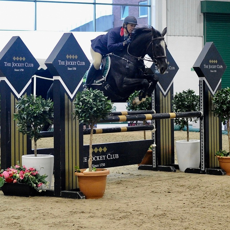 Sian Cadwallader Hinkins Show Jumper, Equestrian Horse of the Year Show, Belle Fleur, Point to Point and National Hunt
